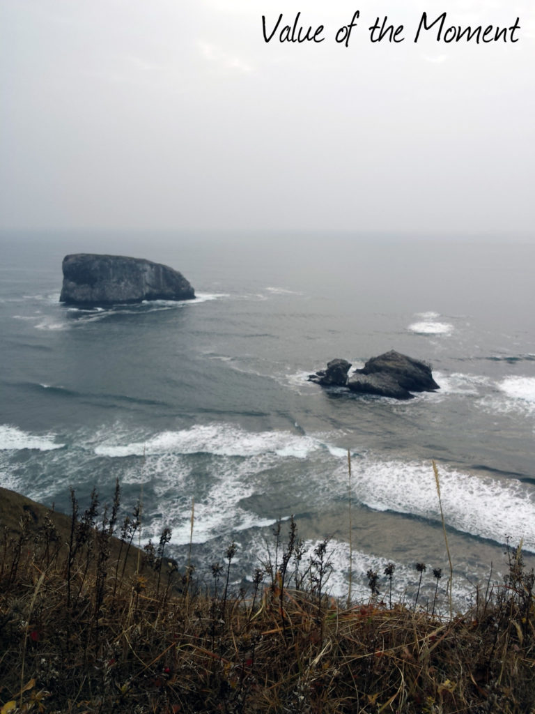 Cliffs above the water, Russia, Kamchatka, Petropavlovsk Kamchatskiy