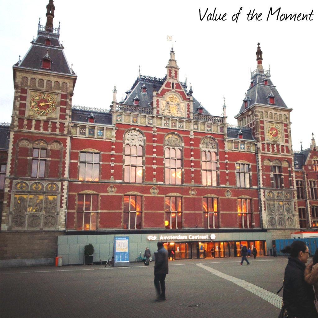 Central Railway Station, Amsterdam, Netherlands (Holland)