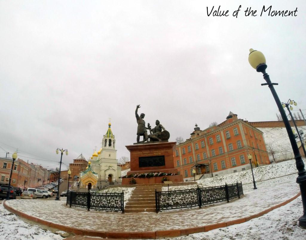 Minin and Pozharsky monument, Nizhniy Novgorod, Russia