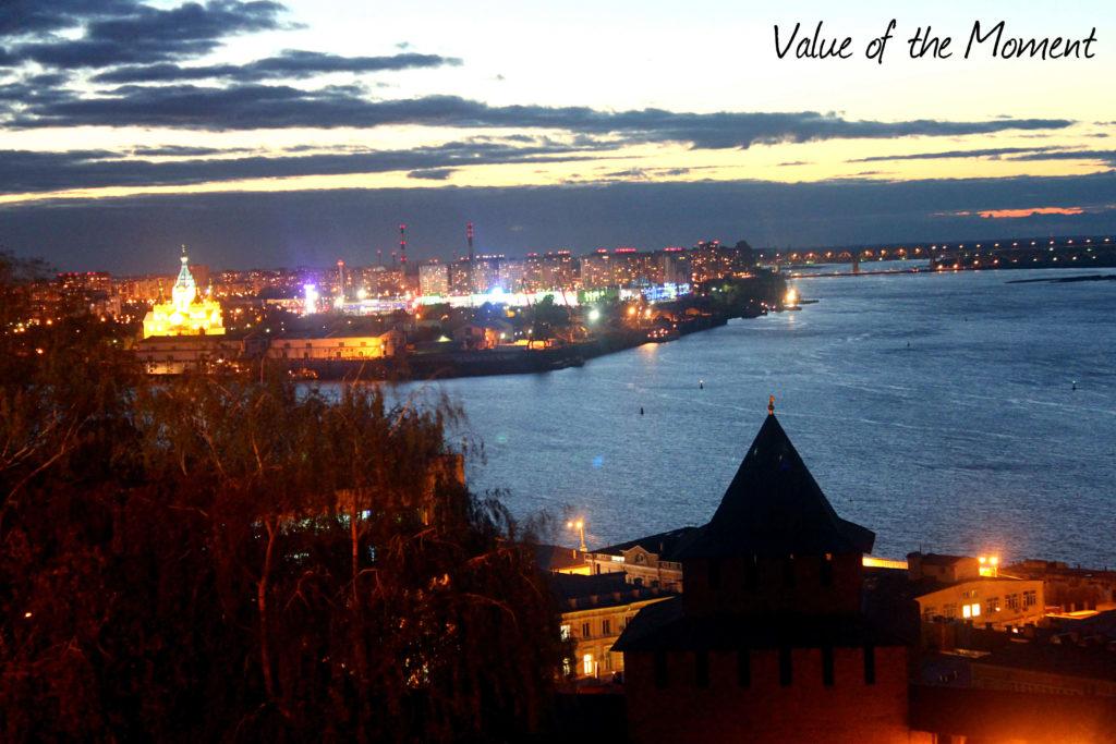 Volga river view, Nizhniy Novgorod, Russia