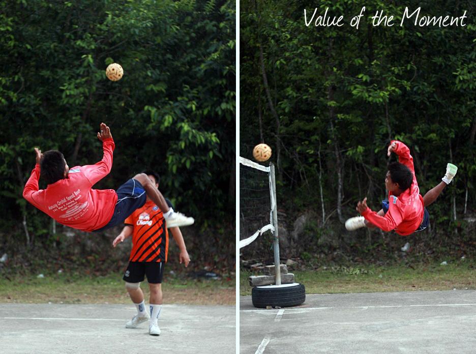 Thaiball, Thai volley, Thailand