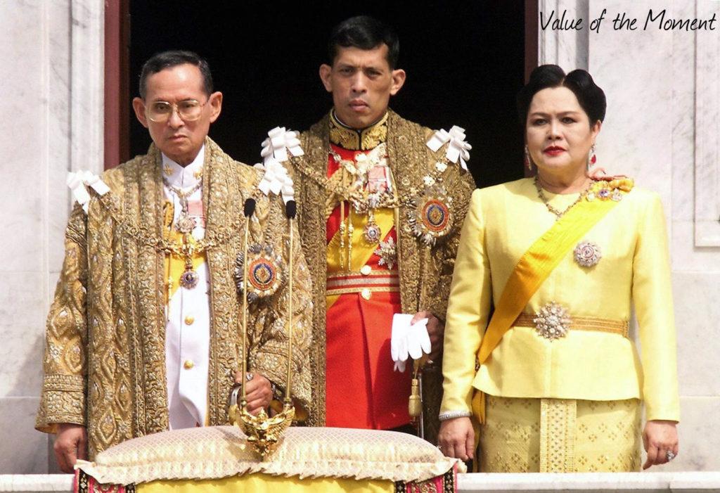 The King Bhumibol Adulyadej and his family, Thailand, Thai