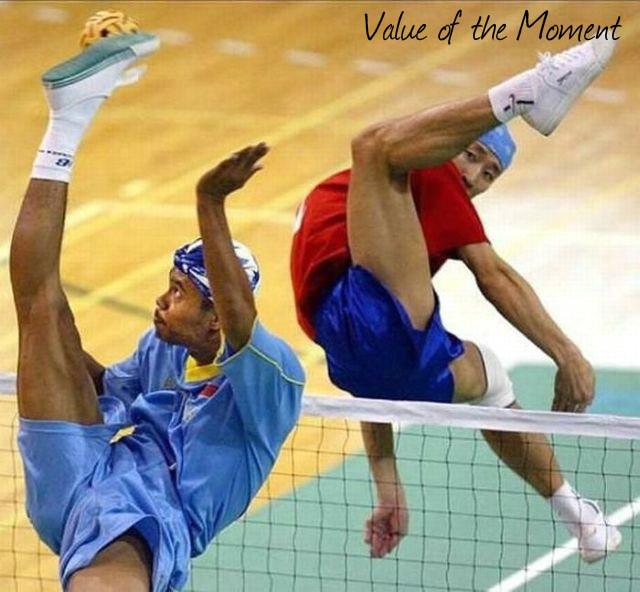 Thaiball or Thai volley, Thailand