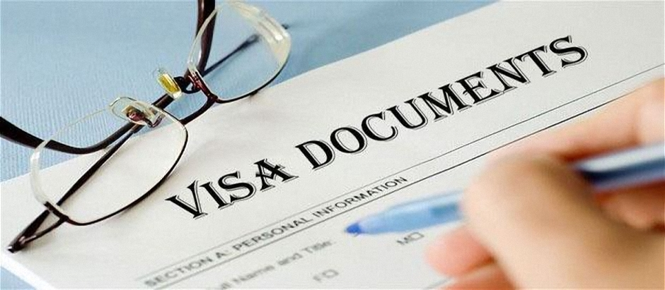 Visa documents, documents for Russian visa